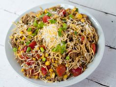 Hearty Mexican Spaghetti Recipe on Yummly. @yummly #recipe