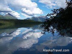 Trail Lake, Kenai Peninsula, Alaska