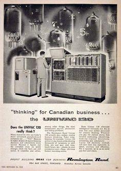 1955 Univac 120 Ad.
