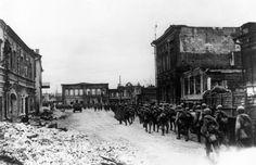Galería fotográfica de la Batalla de Stalingrado #IIGM #Historia