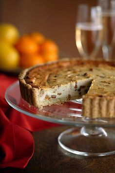 Brigitte Hafner's Sicilian ricotta cake (recipe here).