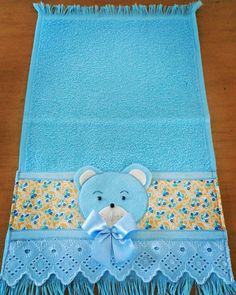 Baby Girl Quilts, Girls Quilts, Needlework, Teddy Bear, Kids Rugs, Embroidery, Toddler Towels, Felt Fish, Embroidered Baby Blankets