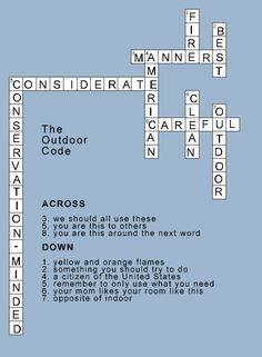 cub scout outdoor code games - Google Search
