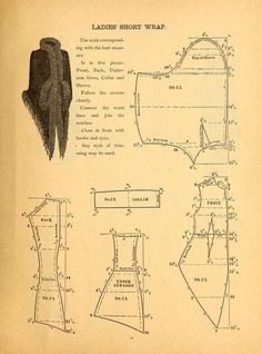 The national garment cutter book of diagrams. G...: