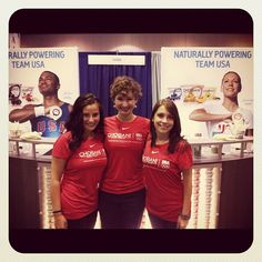 Members of our own #chobanipowered team! Love the imprinted t-shirts.