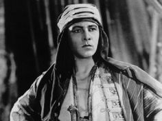 Rudolph Valentino -  Hollywood - Photographs of Celebrities From The 1920's