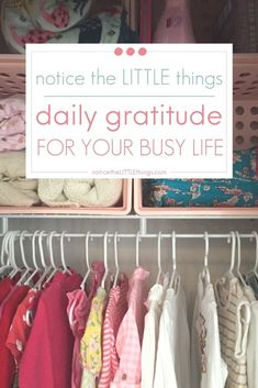 practice daily gratitude and watch your small moments add up to big joy. start a daily gratitude habit, boost your mood, and feel like a better mom! #practicedailygratitude #gratitudejournalideas #busymom #momhacks #howtobehappy #positivethoughts Daily Routine Kids, Favorite Bible Verses, Favorite Quotes, Kids Room Organization, Organized Mom, Chores For Kids, Small Moments, Busy Life, Best Mom