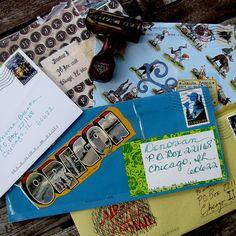 Mail Art-Letter Writing Alliance https://www.flickr.com/photos/donovan_beeson/