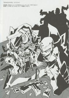 """Dead Leaves (デッド リーブス) illustrations by Hiroyuki Imaishi."
