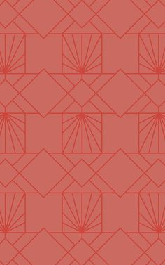 Create a modern space that's truly impressive with this Orange Geometric Pattern Wallpaper, inspired by Art Deco. Wallpaper Art Deco, Geometric Wallpaper Murals, Luxury Wallpaper, Pattern Wallpaper, Geometric Lines, Geometric Patterns, Shape Patterns, Textures Patterns, Pattern Art