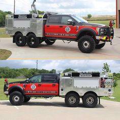 Cool Trucks, Fire Trucks, Volunteer Firefighter, Firefighter Paramedic, Firefighters Wife, Firefighter Decor, Ambulance, Brush Truck, Welding Trucks