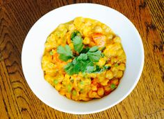 Butternut Squash and Chickpea Coconut Curry From Brooke Thomas, Thankful 30: The Crock Pot Edition