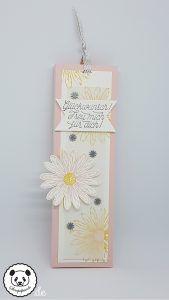 Eine Anleitung für einen Schokoladenlift…   Stempelpanda, Stampin Up, Gänseblümchengruß, Daisy Delight, Verpackung