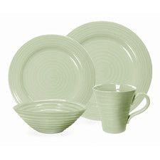 Sophie Conran Sage 4 Piece Place Setting  sc 1 st  Pinterest & Lyria Teal 16-PIECE DINNERWARE SET - Dinnerware - Dining | Stokes ...