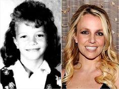 Britney Spears Celebrity Yearbook Photos