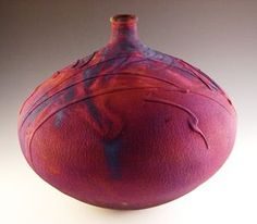 randy brodnax pottery | don ellis pottery | Randy Brodnax and Don Ellis - 1 - Sierra Nevada ... This is so beautiful it takes my breath away: the shape, the color, the markings.