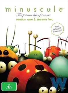 Minuscule - The Private Life Of Insects : Season 1-2 | Boxset - $56 (best price)