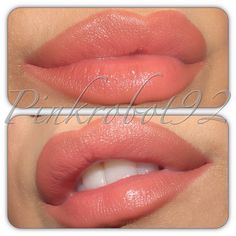 Boldly Bare lipliner by Mac with Memento lip tar by OCC I need this color!