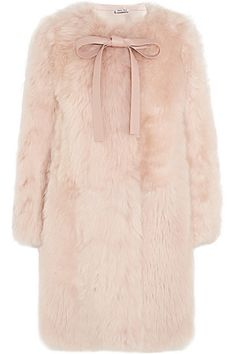 Pale-pink shearling and leather (Lamb) Slips on 100% shearling (Sheep); trim: 100% leather (Lamb); pocket lining: 100% viscose Specialist clean Made in Italy