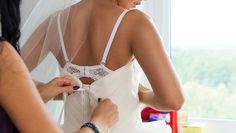 Find out what you need to do before putting on your wedding dress on SHEfinds.com.