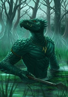 Dragon+Chronicles+-+Lizardman+by+RobertCrescenzio.deviantart.com+on+@DeviantArt