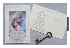 #free printables, ,  Photo Cards, Photo, Cards, , Postcards, Vintage Postcard, Vintage, Save the Date, $0 | CHECK OUT MORE IDEAS AT WEDDINGPINS.NET | #printableweddingtemplates