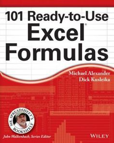 Download the Book:101 Ready-To-Use Excel Formulas PDF For Free, Preface: Mr. Spreadsheet has done it again with 101 easy-to-apply Excel formulas ...