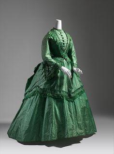 Dress 1870 silk