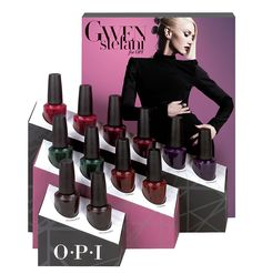 Gwen Stefani OPI Limited Edition Holiday Nail Lacquers