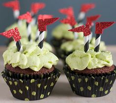 Crashed Witch Cupcakes | Disney Baby