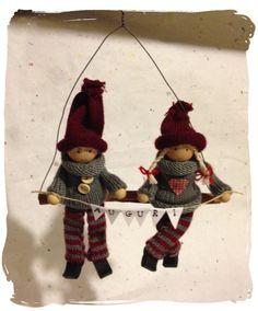 Pupazzetti natalizi, by Laura Idee Creative, 14,00 € su #misshobby.com