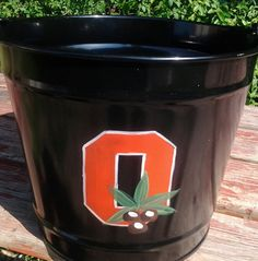 OSU Tailgating Bucket Ohio State Buckeyes by kpdreams on Etsy, $20.00