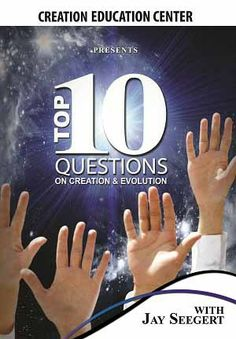"This is a helpful tool when equiping your children to face the evolutionary science world! ""Top 10 Questions (on Creation and Evolution)"" - Creation Education Center Store"