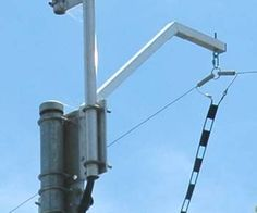 Military Dipole Antenna | The centre insulators and support attachment consisting of a heavy ...