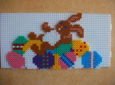 Easter bunny hama perler by mes-petites-creations-13