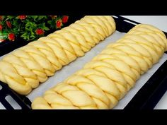 МАЛО КТО ЗНАЕТ ЭТОТ СЕКРЕТ!!! Это Мой Любимый Рецепт! Тесто как ПУХ!!! Готовим С MAZZALI OSHXONA!!! - YouTube Roti Bread, Bread Recipes, Cooking Recipes, Creative Food Art, Eggless Baking, Sweet Buns, Pastry Art, Dessert Bread, Hot Dog Buns