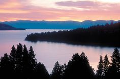 Flathead Lake, Montana. Even this picture doesn't do it justice!  Breathtaking! 7-20-13