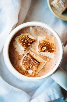 I love marshmallows, but only in hot chocolate. And only if they're homemade. Okay, sometimes I make hot chocolate with a mix that has ...
