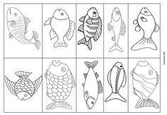 Le Journal de Chrys: Le thème des poissons en maternelle