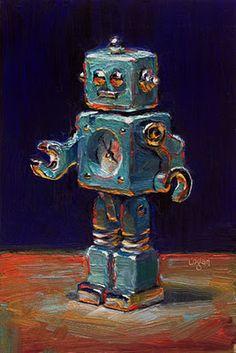 Raymond Oil Painting