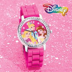 Disney Princess Crystal Watch