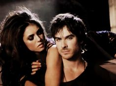 The Vampire Diaries - funny because they're trying so hard to be sexy here and believe me they don't need to try