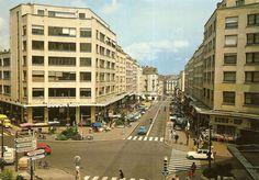 NANTES La rue du Calvaire en 1970