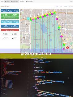 La #Geomática es ciencia que se ocupa de la gestión de información geográfica mediante la utilización de tecnologías de la información y la comunicación. En SRM aplicamos la definición de una manera profesional. #ipsilum