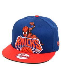 New Era   New York Knicks Hero Post Up Snapback Hat
