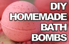 Please rePIN! These are awesome homemade bathbombs