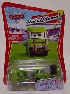 Disney / Pixar CARS Movie 1:55 Die Cast Car Series 4 Race-O-Rama Vitoline Pitty by Mattel. $14.99. Disney / Pixar CARS Movie 1:55 Die Cast Car Series 4 Race-O-Rama Vitoline Pitty. Disney / Pixar CARS Movie 1:55 Die Cast Car Series 4 Race-O-Rama Vitoline Pitty