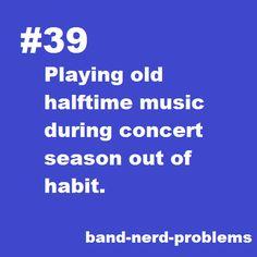 Band Nerd Problems.