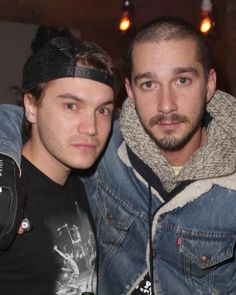 Emile Hirsch and Shia LaBeouf