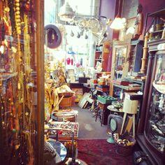 Vintage antique shop